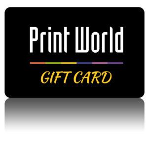 PrintWorld Gift Card