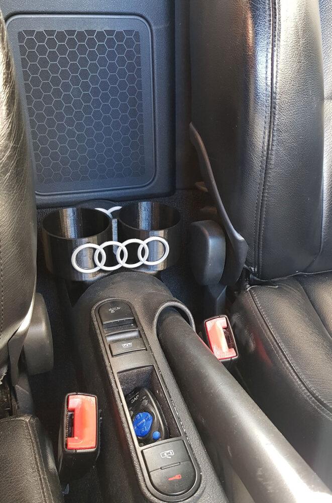 Audi Cup Holder - in situ