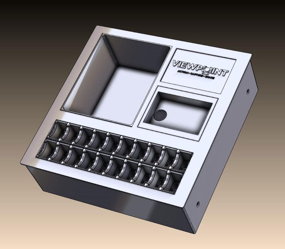 viewpoint Metal Case Shelf